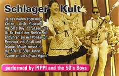 Hochzeitsmusik - Band-Typ: Duo - Vogtland - Pippi and the 50's Boy