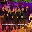 Hochzeitsband - FIRST CLASS PARTYBAND Music For All Generations - Coverband, Hochzeitsband, Partyband